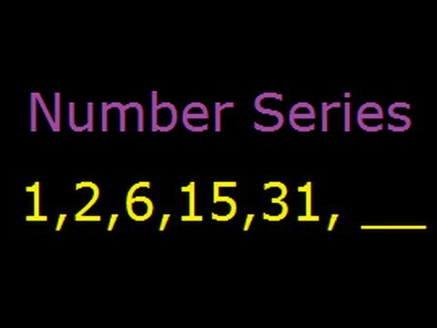 Number Series-Reasoning Questions and Answers